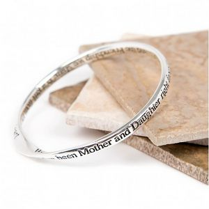 Lovethelinks Mother/Daughter Silver Bangle