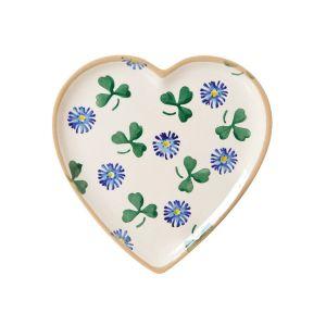 Nicholas Mosse heart plate clover