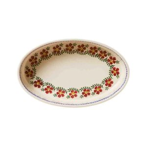 Nicholas Mosse Ovenware Small Oval Dish Old Rose