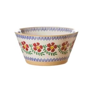 Nicholas Mosse Small Angled Bowl in Old Rose