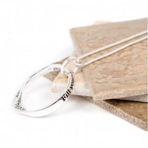 Lovethelinks Joy/Harmony Necklace Silver