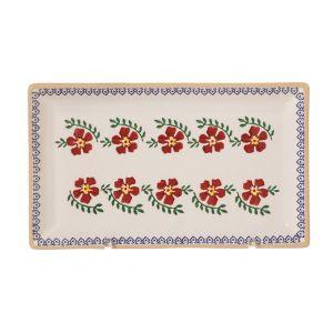 Nicholas Mosse Medium Rectangle Plate Old Rose