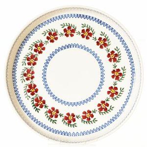 Nicholas Mosse Large Quiche Dish Old Rose