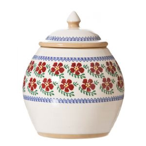 Nicholas Mosse Cookie Jar Old Rose
