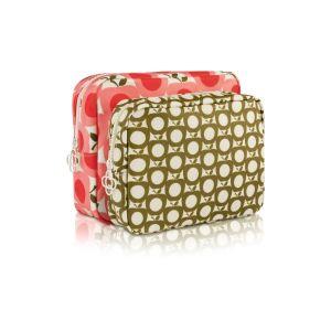 Orla Kiely Apple Double Wash Bag