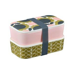 Orla Kiely Bamboo 2 Tier Lunch Box