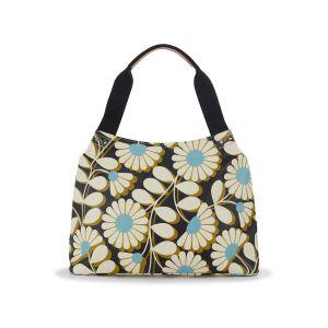 Orla Kiely Cornflower Classic Shoulder Bag Front View
