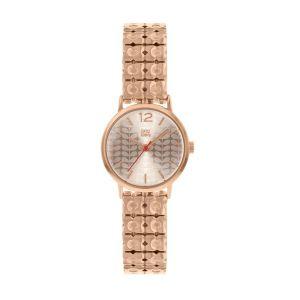 Orla Kiely Frankie Rose Gold Watch