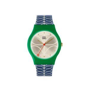 Orla Kiely Bobby Green/Cream Watch