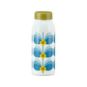 Orla Kiely Insulated Bottle - Butterfly Stem Sky