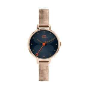 Orla Kiely Ivy Gold Mesh Watch
