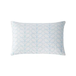 Orla Kiely Linear Stem Neptune Blue Pillowcase