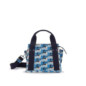 Orla Kiely Marine Bromell Mini Shopper