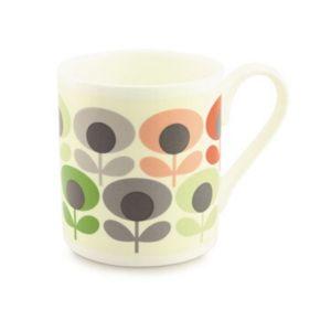 Orla Kiely Multi Flower Oval Mug