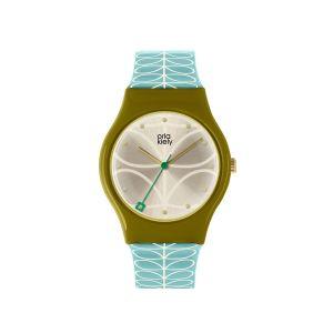 Orla Kiely Bobby Olive/Blue Watch