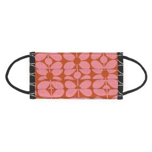 Orla Kiely Sixties Stem Pink Face Covering