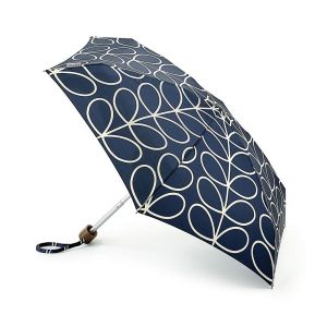 Orla Kiely Tiny Linear Leaf Umbrella