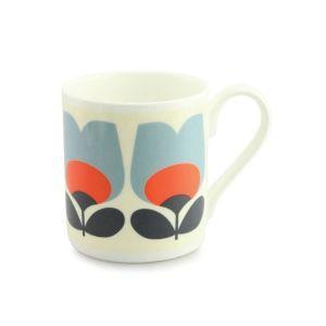 Orla Kiely Tulip Poppy Mug