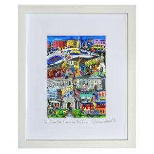 Simone Walsh Large Frame 'Out On The Town In Dublin'