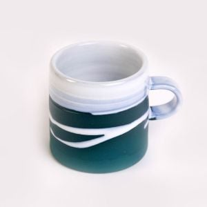 Paul Maloney Teal Espresso Mug