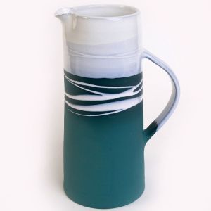 Paul Maloney Teal Large Jug
