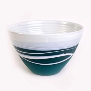 Paul Maloney Teal Medium Table Bowl