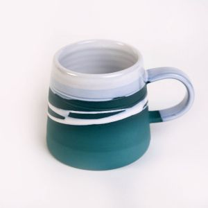Paul Maloney Teal Tankard Mug