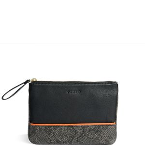 Peelo Leather Pouch Black