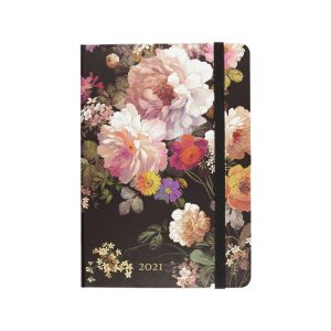 Peter Pauper Press 2021 Midnight Floral Diary