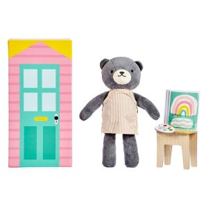 Petit Collage Beatrice the Bear Playset