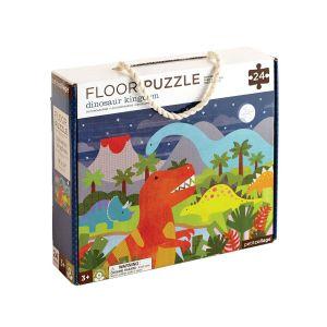 Petit Collage Dinosaur Floor Puzzle
