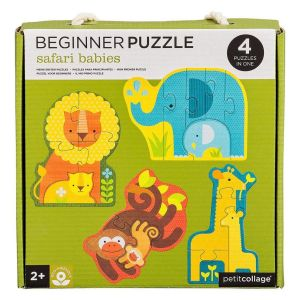 Petit Collage Safari Beginner Puzzle