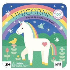 Petit Collage Unicorns Magnetic Playset