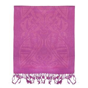 Patrick Francis Magenta Pink Wool Scarf