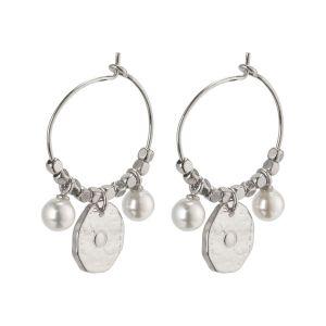 Pilgrim Affection Silver Earrings