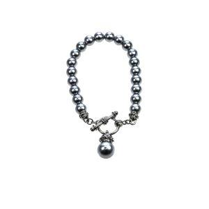Absolute Jewellery Grey Pearl Bracelet