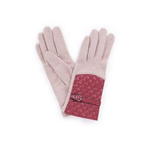 Powder Lizzy Wool Camel Gloves