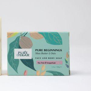 Pure Oskar Pure Beginnings Shea Butter & Oats Soap