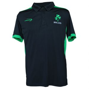 Black Ireland Performance Polo Shirt