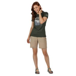 Regatta Chaska Ladies Beige Shorts