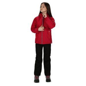 Regatta Hurdle III Kids Dark Cerise Jacket