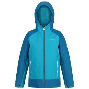 Regatta Hurdle III Kids Blue Jacket