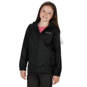 Regatta Kids Pack It Black Jacket