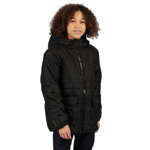 Regatta Perico Kids Black Jacket