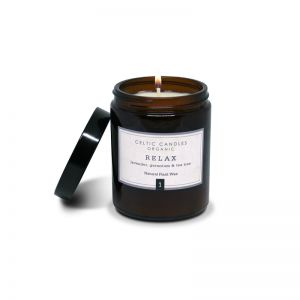 Celtic Candles Organic Range Relax Candle