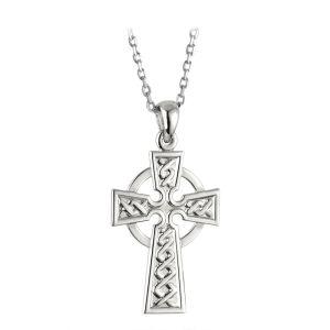 Solvar Small Celtic Cross Pendant