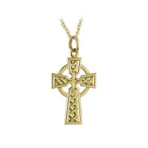 Solvar 14K Celtic Cross