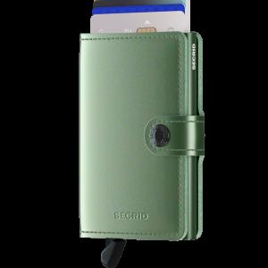 Secrid Metallic Green Mini Wallet