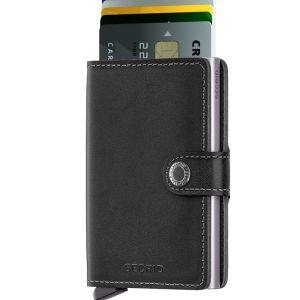 Secrid Original Black Mini Wallet