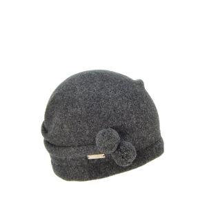 Seeberger Boiled Wool Cap Grey